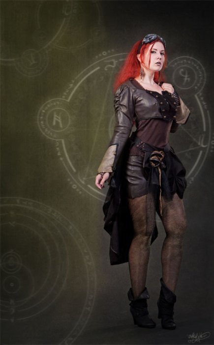 redhead steampunker