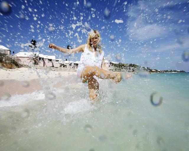 summer splash wallpaper