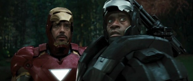 iron man 2 - worried looks