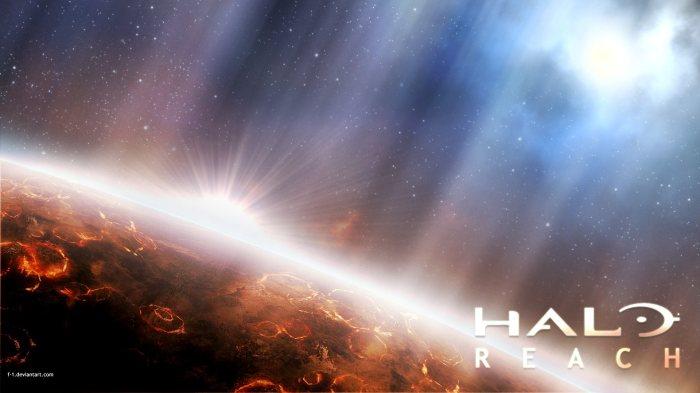 halo reach - sun rise