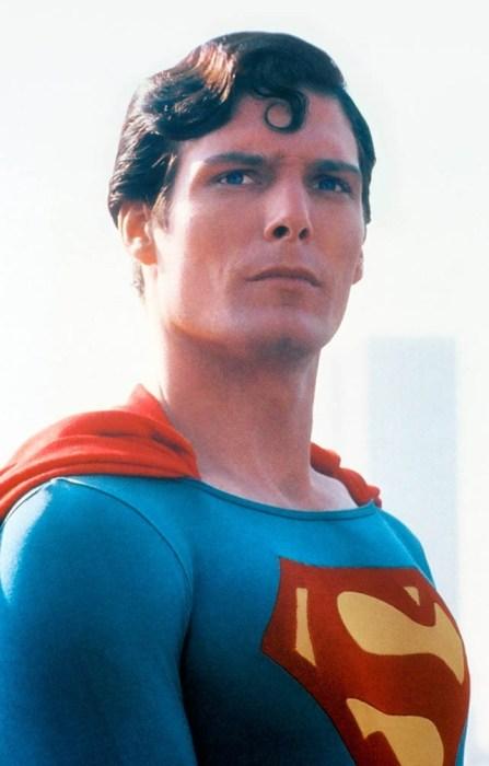 chris reeves is superman
