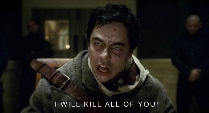 I will kill all of you