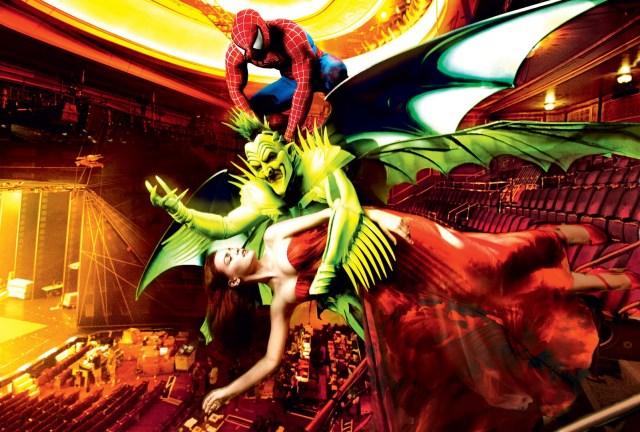 Spiderman - turn off the dark wallpaper