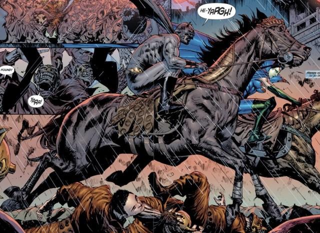 Batman on a horse