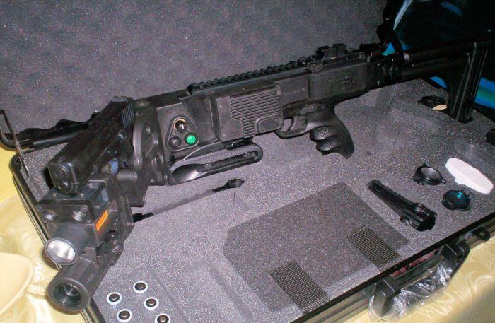 corner pistol