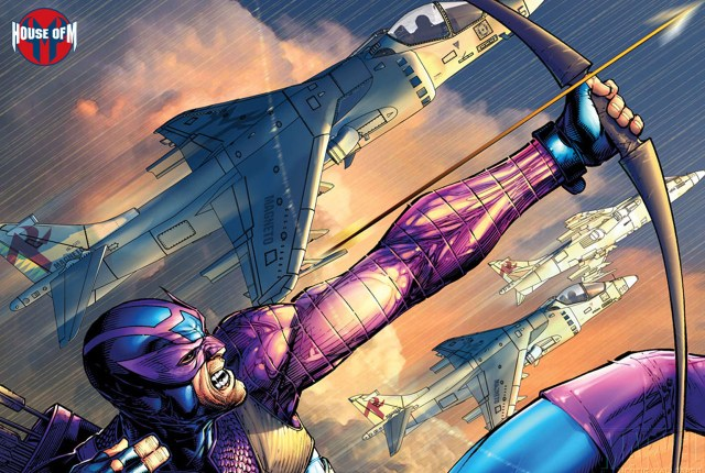 hawkeye with fighter jets