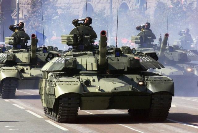 tank salute