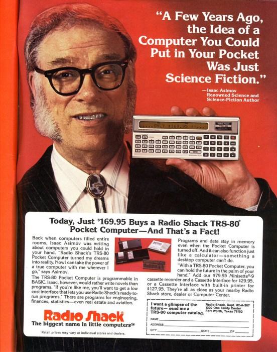isaac asimov - pocket computer