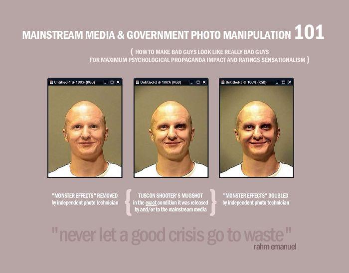 mainstream media and government photo manipulation 101