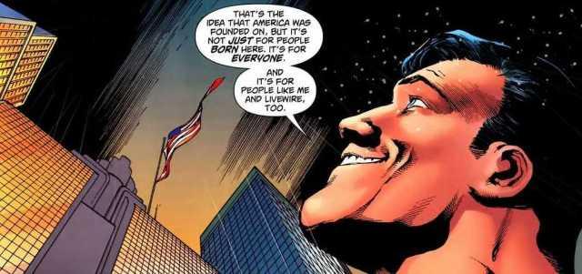 superman loves america