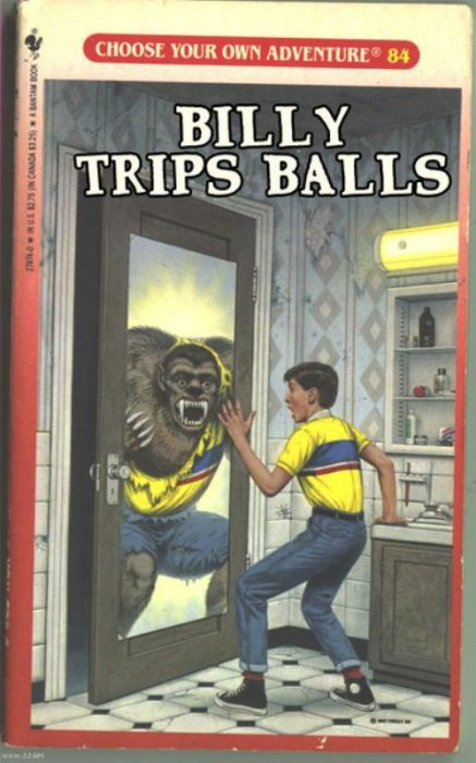 billy trips balls