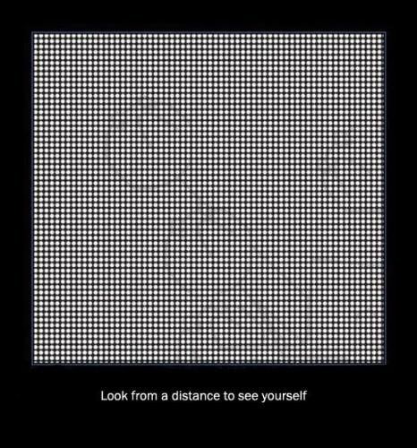 look to see yourself