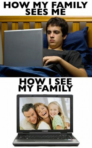 how I see my family