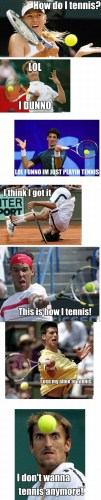 how do I tennis