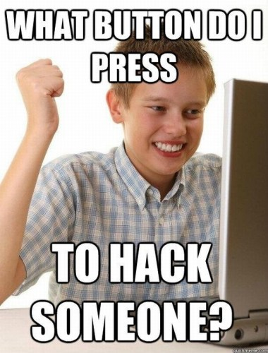 what button do I press to hack someone