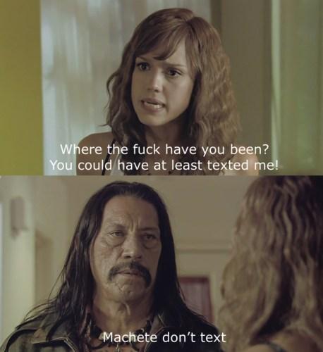machete dont text