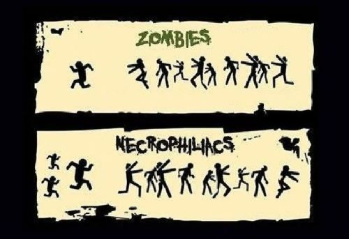zombies vs necrophiliacs