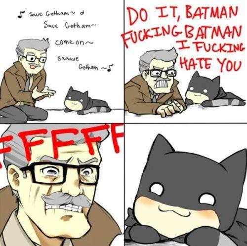 chibbi batman should save gotham
