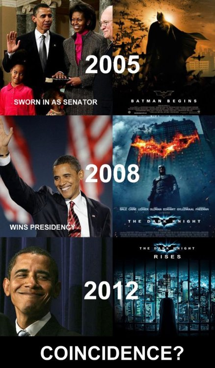 Obama and Batman