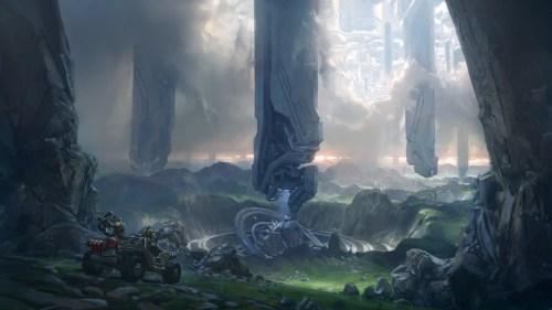 halo - city of the future