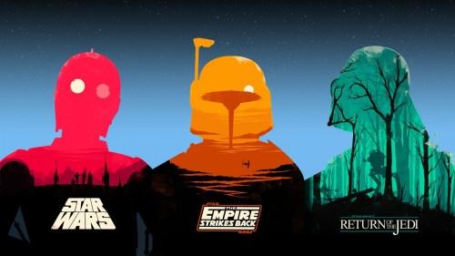 star wars original trilogy wallpaper