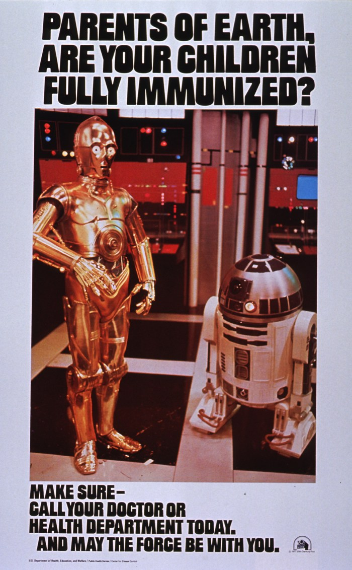 parents of earth - are your children fully immunized - star wars vacination advertisement.jpg