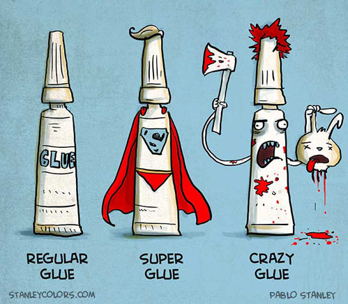 regular glue, super glue, crazy glue.jpg