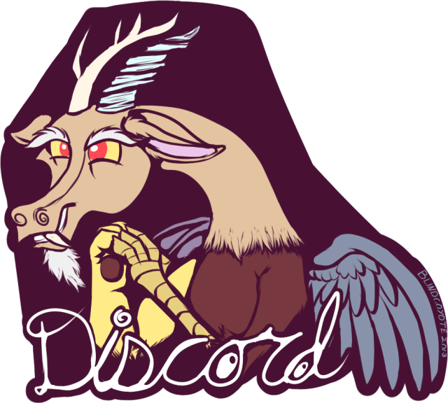 Discord Badge by _BlindCoyote