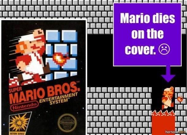 Mario dies on the cover.jpg