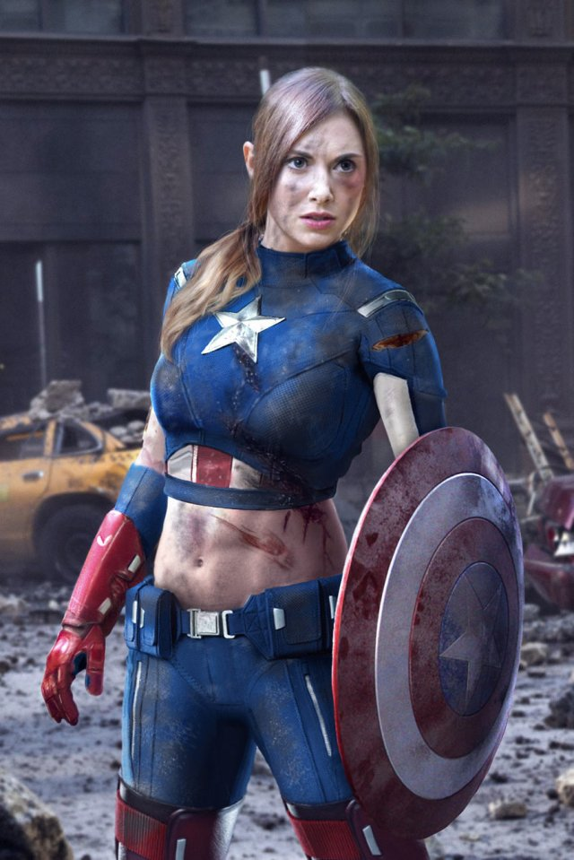 Alison Brie as captain america.jpg