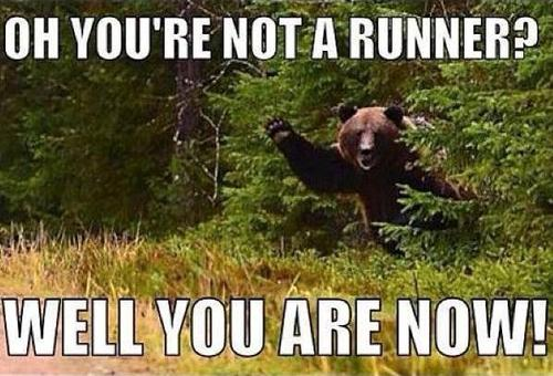 of you're not a runner - well you are now.jpg