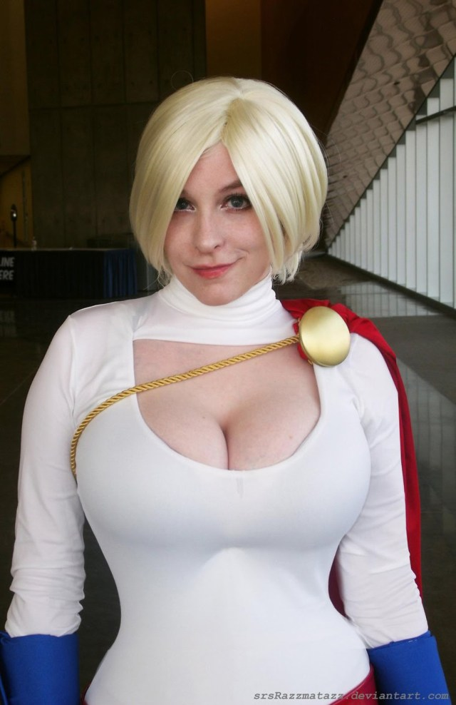 power girl powergirl comic con san diego 2013 cosplay sexy big tits boobs breasts busty huge powerful smirk by_srsrazzmatazz.jpg