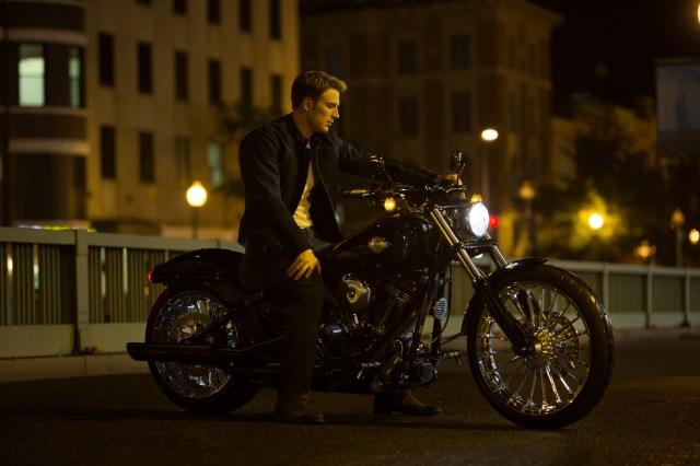Steve Rogers on his nice bike.jpg