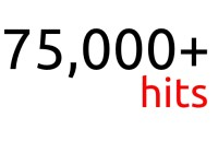 75,000 red hits