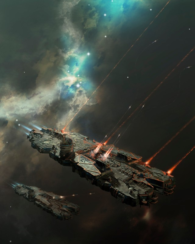 battlecruiser on a mission by oshanin.jpg