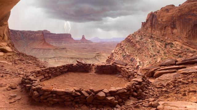 False Kiva Canyonlands National Park Utah by Don Paulson.jpg