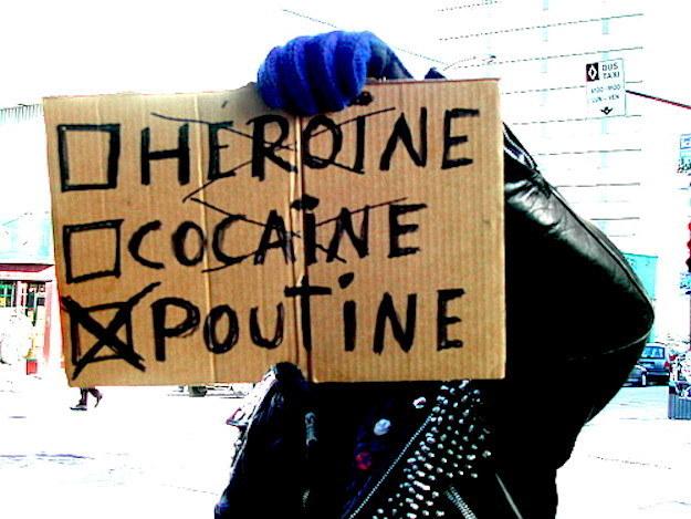Heroine - Cociane - Poutine