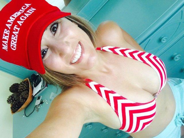trump girl in bikini with big chest.jpg