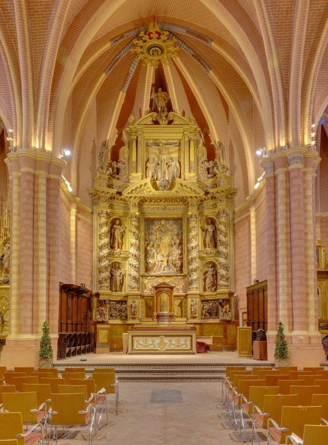 the church of San Pedro de los Francos, located in Calatayud, Aragon, Spain.JPG