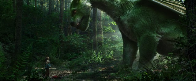 Pete's Dragon is green.jpg