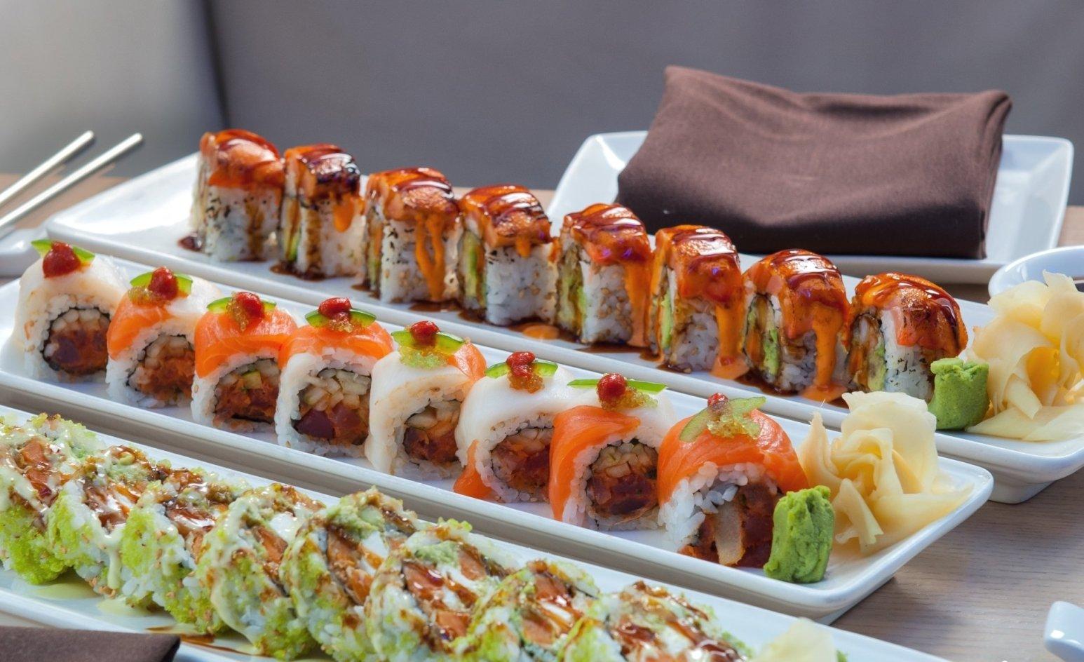 Awesome Sushi plates