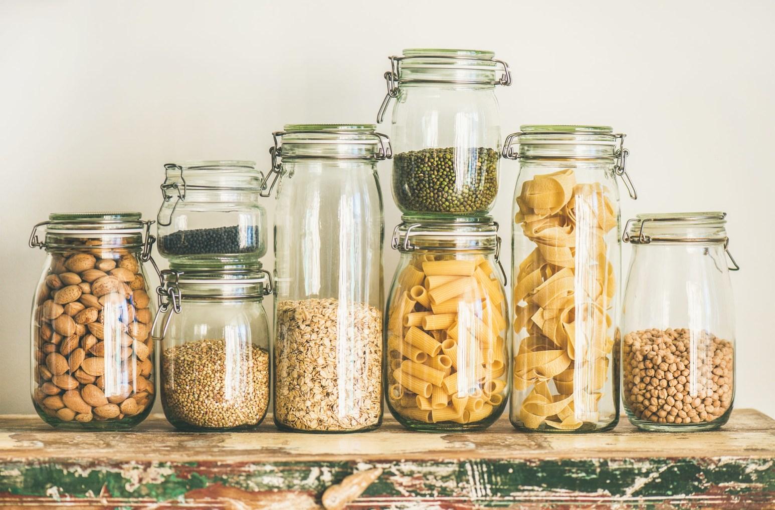 Jars of Food