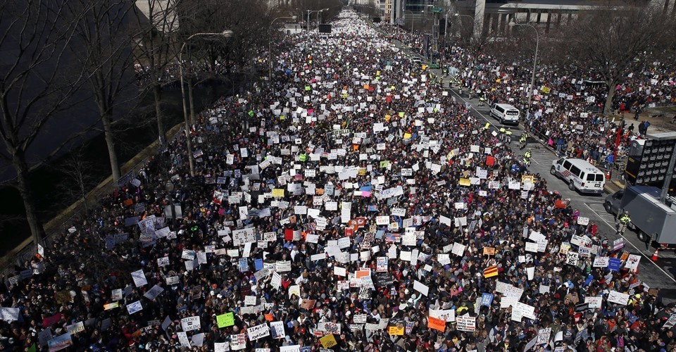 """Photos From the """"March for Our Lives"""""""