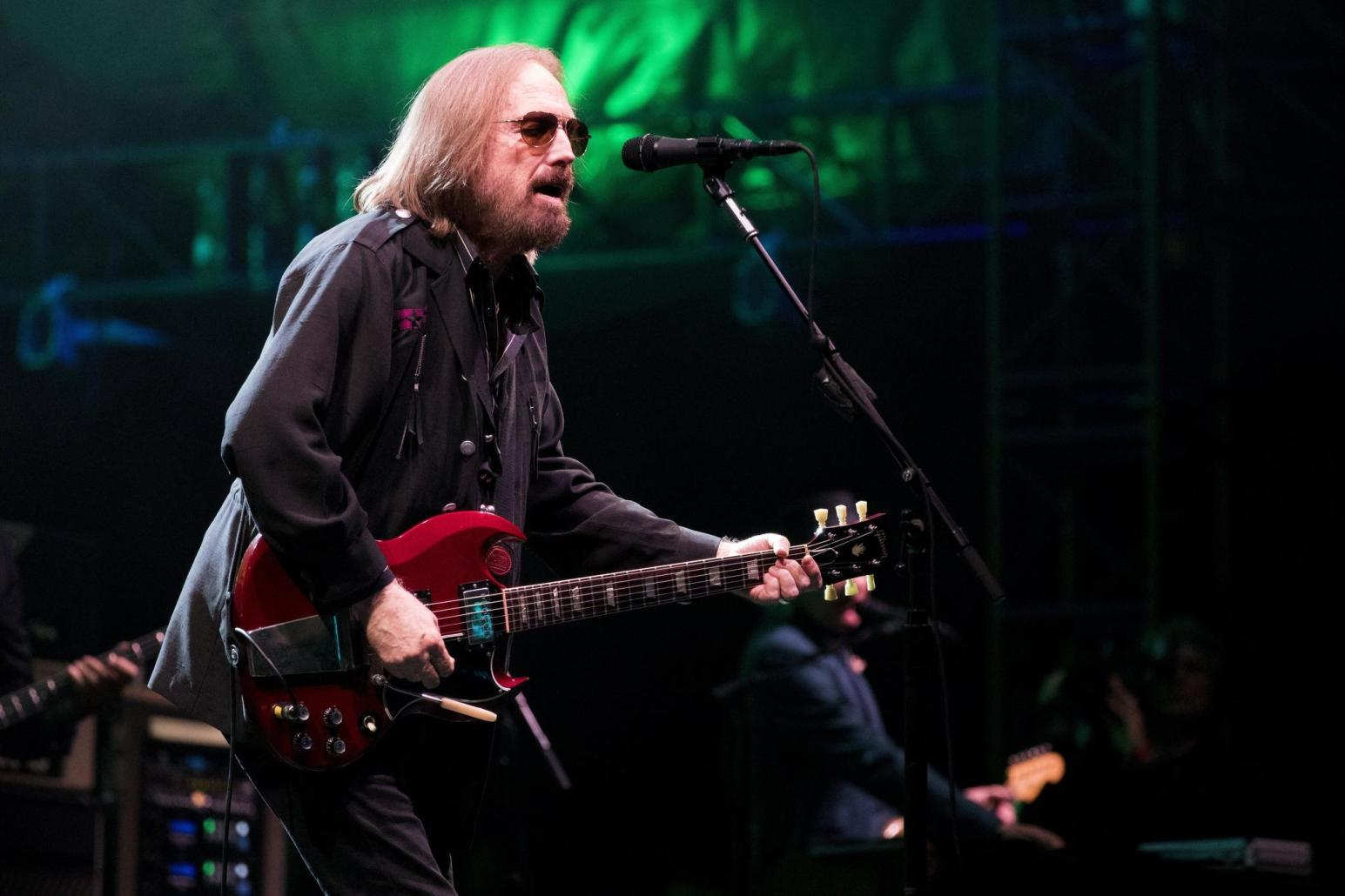 Tom Petty jamming out