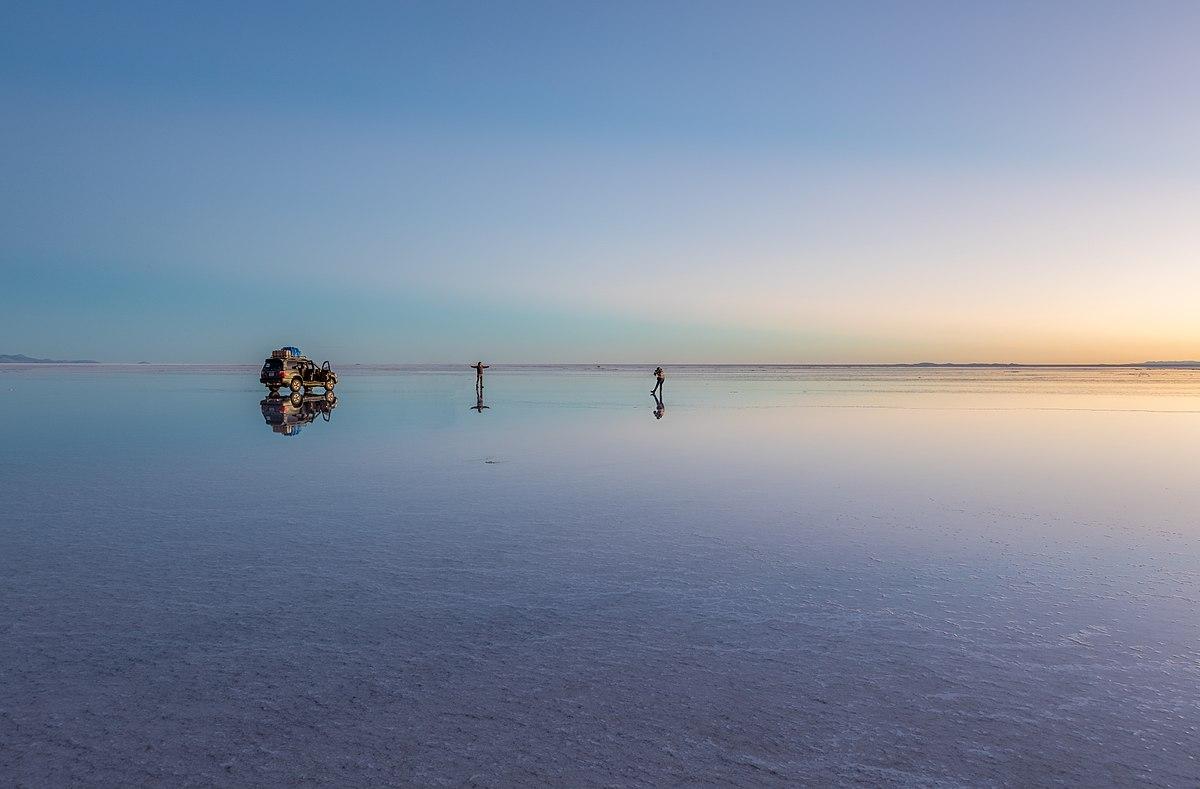Reflective Salt Flats