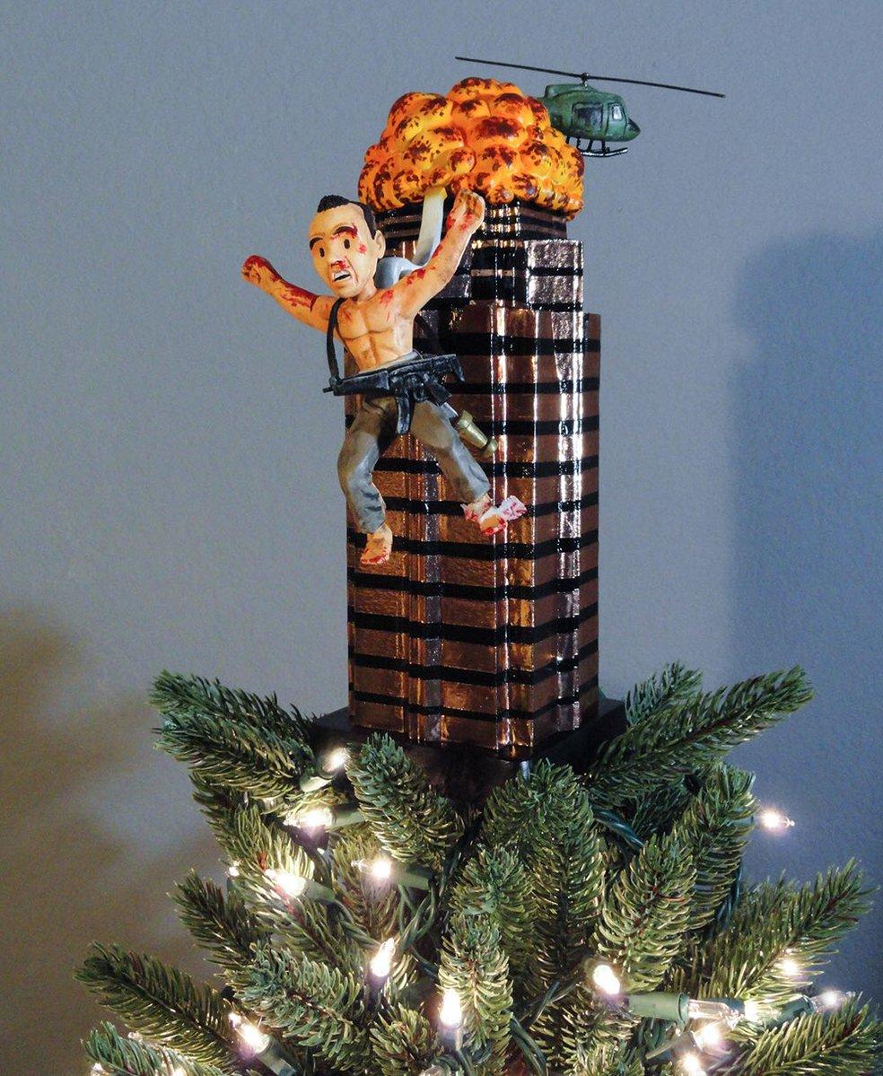 Die Hard Christmas Tree Topper