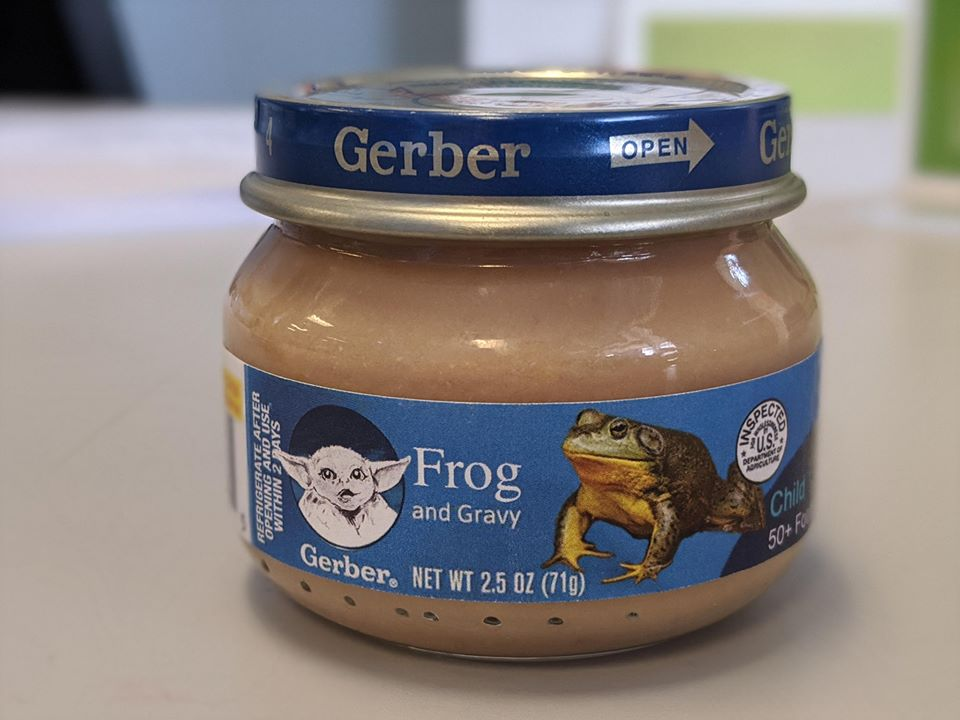 frog and gravy
