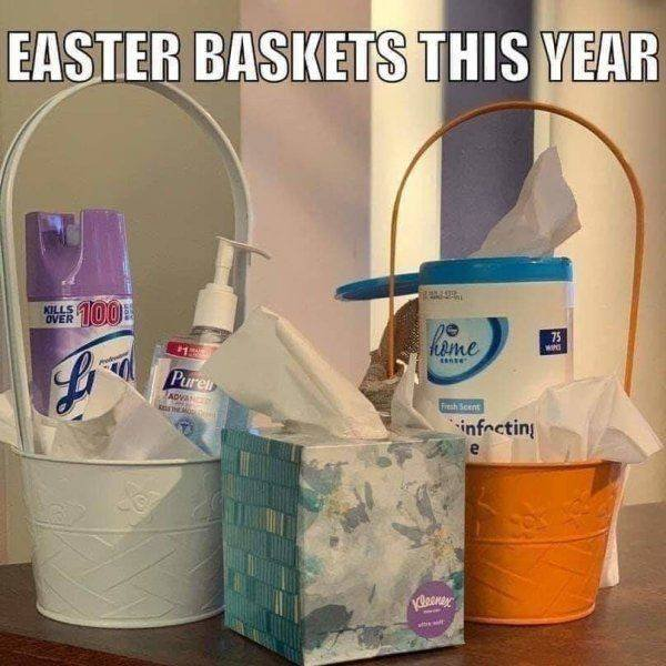 easter baskets this year