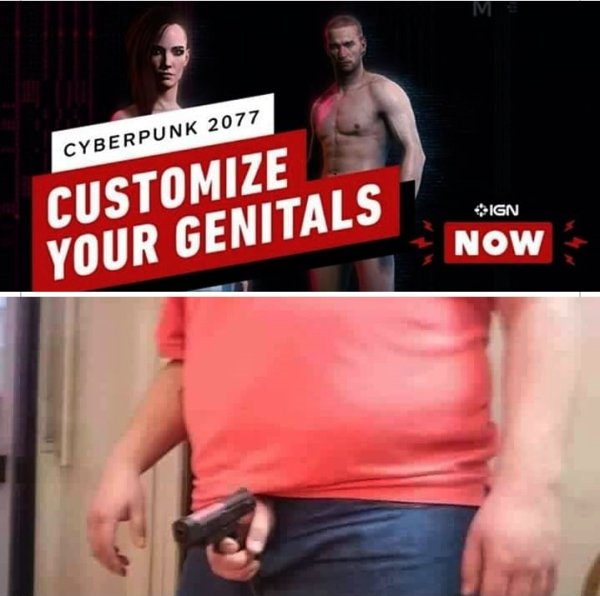 Customize Your Genitals