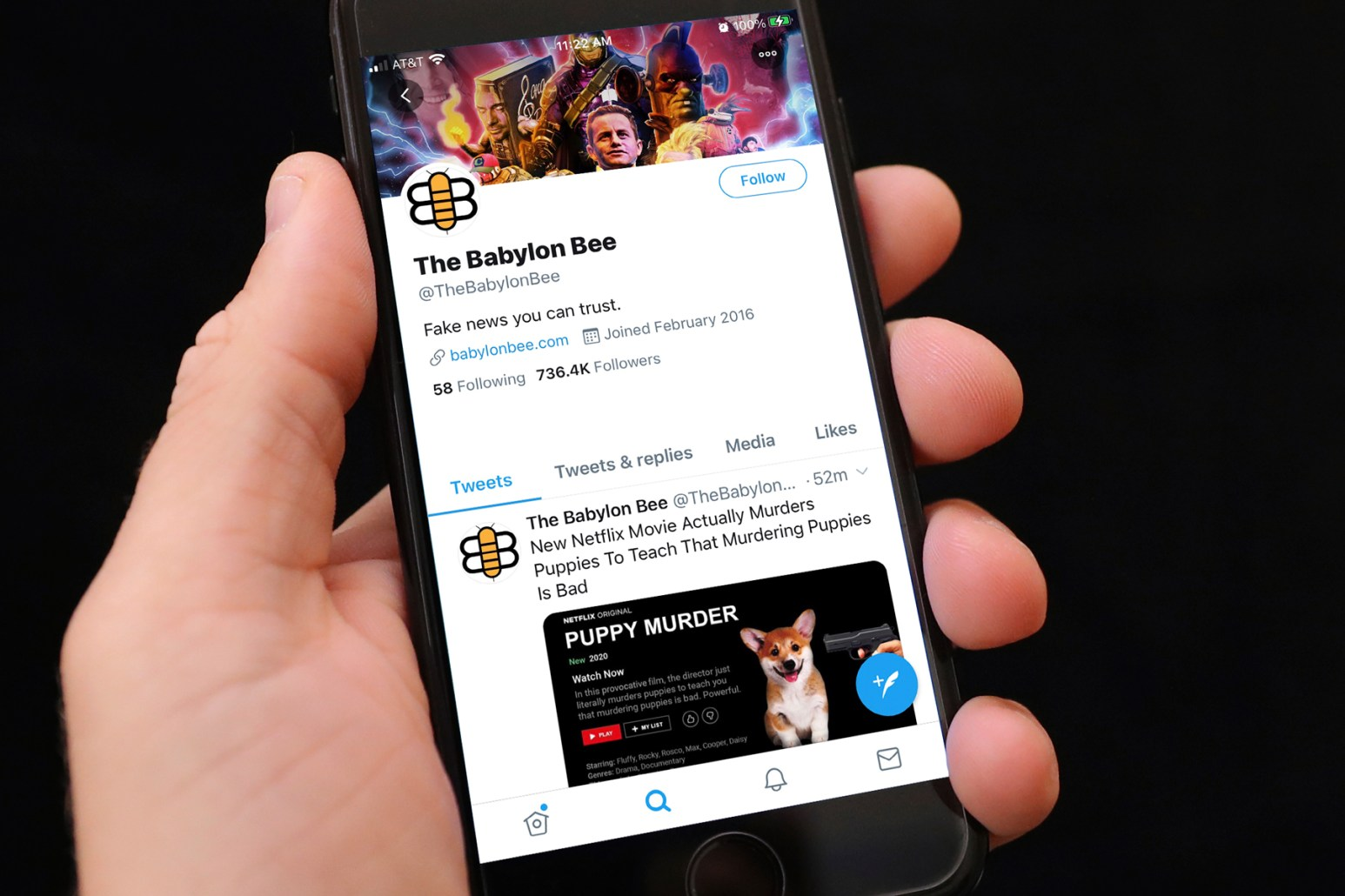 What Is the Babylon Bee Trump Retweeted the Satirical Website